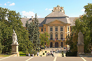 Baroque Teaching College - Eger Hungary .<br /> <br /> Visit our HUNGARY HISTORIC PLACES PHOTO COLLECTIONS for more photos to download or buy as wall art prints https://funkystock.photoshelter.com/gallery-collection/Pictures-Images-of-Hungary-Photos-of-Hungarian-Historic-Landmark-Sites/C0000Te8AnPgxjRg