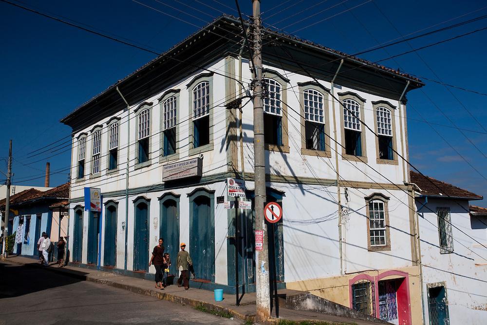 Pitangui_MG, Brasil...Casarao Historico no centro de Pitangui, Minas Gerais...Colonial House at Historic center in Pitangui, Minas Gerais...Foto: LEO DRUMOND / NITRO