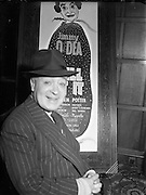 Jimmy O'Dea The Gaiety Pantomime.17/12/1952