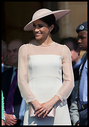 May 22, 2018 - London, London, United Kingdom - Image licensed to i-Images Picture Agency. 22/05/2018. London, United Kingdom. The Duchess of Sussex at the Prince of Wales' 70th Birthday Patronage Celebration in the gardens of  Buckingham Palace in London. (Credit Image: © Stephen Lock/i-Images via ZUMA Press)