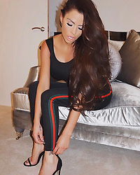 """Katie Price releases a photo on Instagram with the following caption: """"If the shoe fits \ud83d\udc8e\ud83d\ude4b\ud83c\udffc\ud83d\udc60 @inthestyle \u2764\ufe0f makeup @francescabrits hair by @lucyhartley0 \u2764\ufe0f"""". Photo Credit: Instagram *** No USA Distribution *** For Editorial Use Only *** Not to be Published in Books or Photo Books ***  Please note: Fees charged by the agency are for the agency's services only, and do not, nor are they intended to, convey to the user any ownership of Copyright or License in the material. The agency does not claim any ownership including but not limited to Copyright or License in the attached material. By publishing this material you expressly agree to indemnify and to hold the agency and its directors, shareholders and employees harmless from any loss, claims, damages, demands, expenses (including legal fees), or any causes of action or allegation against the agency arising out of or connected in any way with publication of the material."""