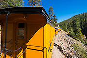 The Durango & Silverton Narrow Gauge Railroad, San Juan National Forest, Colorado USA