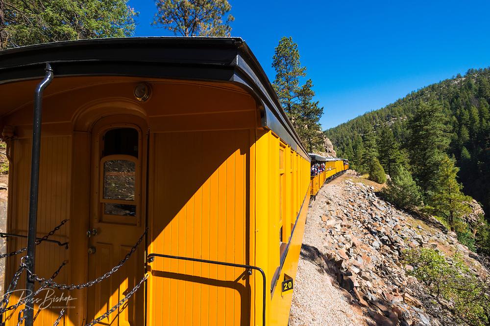 The Durango & Silverton Narrow Gauge Railroad, San Juan National Forest, Colorado USA