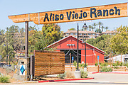 Entrance and Signage to Aliso Viejo Ranch