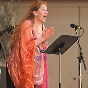 Christianne Stotijn performs William Bolcom's Cabaret Songs at the 66th Ojai Music Festival on June 10, 2012 in Ojai, California.