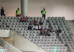 Supporters in empty stadium during football match between National Teams of Slovenia and Bulgaria in Final Tournament of UEFA Nations League 2019, on September 6, 2018 in SRC Stozice, Ljubljana, Slovenia. Photo by Morgan Kristan / Sportida