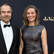 NLD/Utrecht/20181005 - L'OR Gouden Kalveren Gala 2018, Joram Lursen en Helen Dalessi