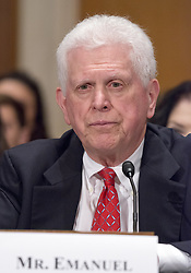 July 13, 2017 - Washington, District of Columbia, United States of America - William Emanuel testifies on his nomination as a Member of the National Labor Relations Board before the United States Senate Committee on Health, Education, Labor, and Pensions  on Capitol Hill in Washington, DC on Thursday, July 13, 2007.Credit: Ron Sachs / CNP (Credit Image: © Ron Sachs/CNP via ZUMA Wire)