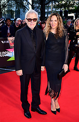 Harvey Keitel and Daphna Kastner attending the Closing Gala and International premiere of The Irishman, held as part of the BFI London Film Festival 2019, London.