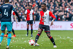 25-02-2017 NED: Feyenoord - PSV, Rotterdam<br /> 24e speelronde van seizoen 2016-2017, De Kuip / Eljero Elia #11 of Feyenoord