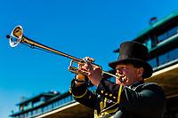 Bugler, Keeneland Racecourse, Lexington, Kentucky USA.