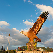 Eagle Monument As Symbol Of Langkawi, Malaysia