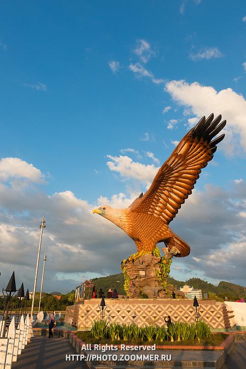 Eagle Monument As Symbol Of Langkawi, Malaysia