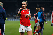 Katie McCabe after the FA Women's Super League match between Tottenham Hotspur Women and Arsenal Women FC at Tottenham Hotspur Stadium, London, United Kingdom on 17 November 2019.