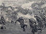 Seige of Sebastopol: Allied troops unsuccessful attack on the Redan, 8 September 1855.