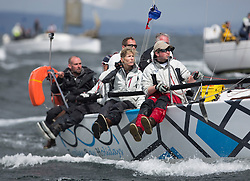 The third days racing at the  Silvers Marine Scottish Series 2015, organised by the  Clyde Cruising Club<br /> Based at Tarbert,  Loch Fyne from 22rd-24th May 2015<br /> <br /> 5585C, Thrust, Richard Shellcock, Oban SC, Prism 28<br /> <br /> <br /> Credit : Marc Turner / CCC<br /> For further information contact<br /> Iain Hurrel<br /> Mobile : 07766 116451<br /> Email : info@marine.blast.com<br /> <br /> For a full list of Silvers Marine Scottish Series sponsors visit http://www.clyde.org/scottish-series/sponsors/