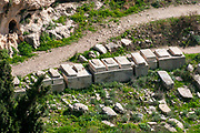 The Ancient Jewish Cemetery on Mount of Olives, Jerusalem