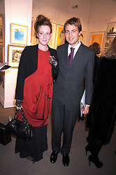 BEN & KATE GOLDSMITH at the Spear's Wealth Management Awards held at Sotheby's, 34-35 New Bond Street, London on 29th September 2008.