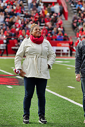 NORMAL, IL - October 13:  during a college football game between the ISU (Illinois State University) Redbirds and the Southern Illinois Salukis on October 13 2018 at Hancock Stadium in Normal, IL. (Photo by Alan Look)