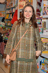 LONDON, ENGLAND 1 DECEMBER 2016: Sophie Ellis-Bextor at the 10th birthday party for the toy shop HoneyJam, 2 Blenheim Crescent, Notting Hill, London, England. 1 December 2016.