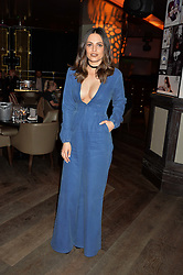 OLIVIA WAYNE at the Fashion Targets Breast Cancer 20th Anniversary Party held at 100 Wardour Street, Soho, London on 12th April 2016.