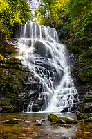 Eastatoe Falls in Rosman, NC