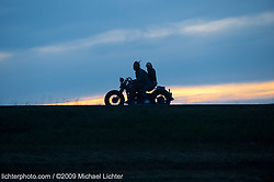 Racing back to Sturgis. SD 2009<br /> <br /> Limited Edition Print from an edition of 20. Photo ©2009 Michael Lichter.