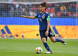 Kamagai during the FIFA Women's World Cup group D first round soccer match between Argentina and Japan at Parc des Princes Stadium in Paris, France on June 10, 2019. The FIFA Women's World Cup France 2019 will take place in France from 7 June until 7 July 2019. Photo by Christian Liewig/ABACAPRESS.COM