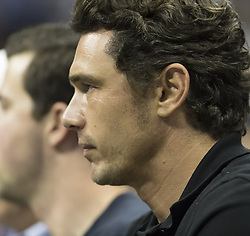 September 6, 2017 - New York, New York, United States - James Franco attends match between Juan Martin del Potro of Argentina & Roger Federer of Switzerland at US Open Championships at Billie Jean King National Tennis Center  (Credit Image: © Lev Radin/Pacific Press via ZUMA Wire)