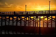 Sunset at Seal Beach Pier