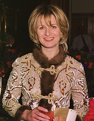 Art patron JANET DE BOTTON at a party in London on 22nd February 1999.<br /> MON 27