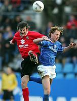 Fotball, 19. februar 2005, v.l. v.l. Levan TSKITISHVILI , Christoph PREUSS Bochum<br /> Bundesliga VfL Bochum - SC Freiburg