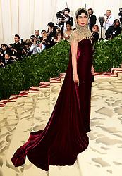 Priyanka Chopra attending the Metropolitan Museum of Art Costume Institute Benefit Gala 2018 in New York, USA.