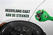 Nederland, Rotterdam, 22-09-2010Ecomobiel, beurs op het gebied van duurzame mobiliteit. Met auto's die rijden op waterstof, aardgas, biogas, en stroom.Foto: Flip Franssen/Hollandse Hoogte