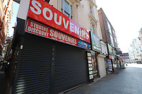 london Locked down on the first day  Britain has been placed in lockdown for three weeks under strict new measures introduced to help curb the spread of coronavirus
