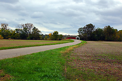 24 October 2017:  Thorpe Ford Bridge.<br /> <br />  Parke County Indiana is the site of the Indiana Covered Bridge Festival every October
