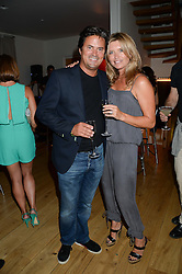 TINA HOBLEY and OLIVER WHEELER at an Evening with Notting Hill Guitars held at 167 Westbourne Grove, London W11 on 4th September 2013.