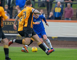 Cove Rangers Jamie Masson cuts inside on way to scoring their goal. half time : Berwick Rangers 0 v 1 Cove Rangers, League Two Play-Off Second Leg played 18/5/2019 at Berwick Rangers Stadium Shielfield Park.