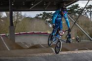#514 (TOURNEBIZE Tristan) FRA at the 2018 UCI BMX Superscross World Cup in Saint-Quentin-En-Yvelines, France.