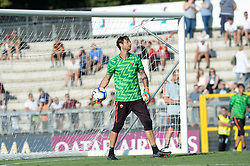 July 19, 2018 - Rome, Italy - Antonio Mirante during training session open to the fans of A.S. Roma,  pre-season retreat at Stadio Tre Fontane on july 19, 2018 in Rome, Italy. (Credit Image: © Silvia Lore/NurPhoto via ZUMA Press)