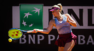 Marta Kostyuk of Ukraine in action during the first round of the 2021 Internazionali BNL d'Italia, WTA 1000 tennis tournament on May 10, 2021 at Foro Italico in Rome, Italy - Photo Rob Prange / Spain ProSportsImages / DPPI / ProSportsImages / DPPI
