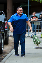 EXCLUSIVE: The Miz, The Bella Twins and many WWE Wrestlers are seen as they prepare for Wrestlemania 34 in New Orleans, Louisiana. 07 Apr 2018 Pictured: Samoa Joe. Photo credit: MEGA TheMegaAgency.com +1 888 505 6342
