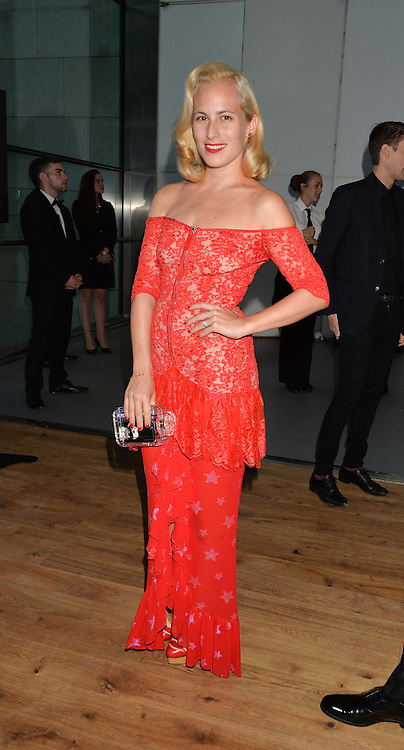 CHARLOTTE OLYMPIA at the GQ Men Of The Year 2014 Awards in association with Hugo Boss held at The Royal Opera House, London on 2nd September 2014.