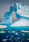 Arched iceberg, Petermann Island, Antarctic Peninsula