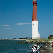 Barnegat Bay Lighthouse in Long Beach Island NJ