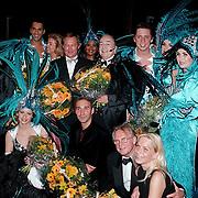 Premiere Dinnershow 2000, crew na afloop