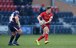 Callum Sheedy of Bristol Rugby - Mandatory by-line: Robbie Stephenson/JMP - 13/01/2018 - RUGBY - Castle Park - Doncaster, England - Doncaster Knights v Bristol Rugby - B&I Cup