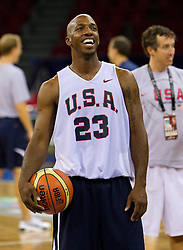 Chauncey Billups #23 of the USA Senior Men's National Team during practice prior to the 2010 World Championships of Basketball on August 27, 2010 at Abdi Ipekci Arena in Istanbul, Turkey. (Photo by Vid Ponikvar / Sportida)