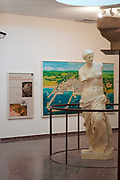 King Herod's City exhibition at the Ralli Museum, Caesarea, Israel.