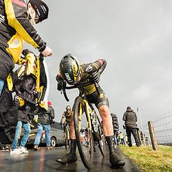 12-03-2021: Wielrennen: Healthy Ageing Tour: Wijster<br />After the race ROmy Kasper